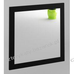 Lustro 600x600 czarny mat