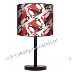 Lampa stojąca BLACK RED WHITE