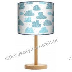 Lampa stojąca Chmury Pojemniki na zabawki