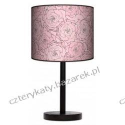 Lampa stojąca Pudrowe róże Pufy