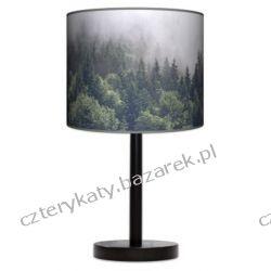Lampa stojąca Mgła Regały i półki
