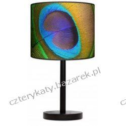 Lampa stojąca Pawie oko Pufy