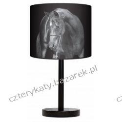 Lampa stojąca Black horse Regały i półki