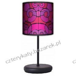 Lampa stojąca eko Witraż black