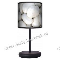 Lampa stojąca eko Biały kamień Regały i półki