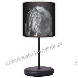 Lampa stojąca eko Black horse Łóżka pojedyncze