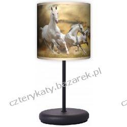 Lampa stojąca eko Horses Regały i półki