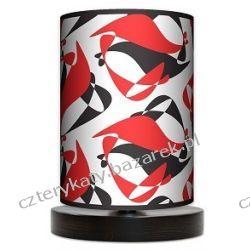 Lampa stojąca mała Black Red White