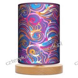 Lampa stojąca mała Kolorowe fale