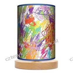 Lampa stojąca mała Kolorowe kredki