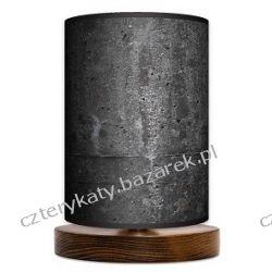 Lampa stojąca mała Black Stone Regały i półki