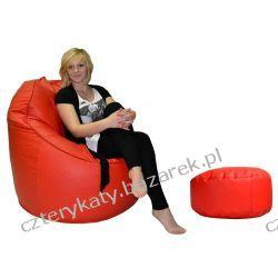 Fotel Exlusive+podnóżek Komody
