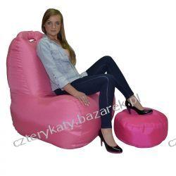 Fotel MALIBU+podnóżek Łóżka pojedyncze
