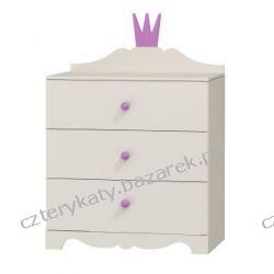 Komoda Princessa 3 szuflady Lampy