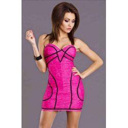 Sukienki wieczorowe szyfonowe z koronki S, M, L