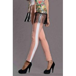 Spodnie o luźnym fasonie, na gumce Emamoda-S, M, L