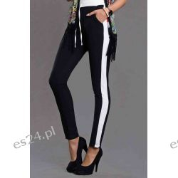 Spodnie o luźnym fasonie, na gumce Emamoda-S