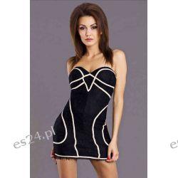 Sukienki wieczorowe szyfonowe z koronki  M, L
