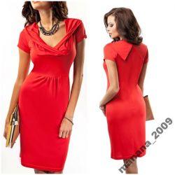 Sukienka Enny 17041*czerwień***Nowość!***38