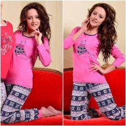 Piżama damska Taro Ismena*bawełna*KOLORY* XL/42