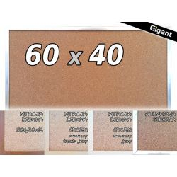 TABLICA KORKOWA W RAMIE 60x40 40x60 cm
