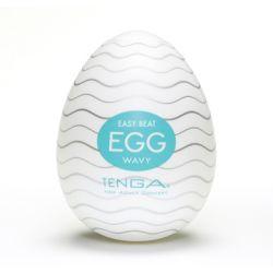 Tenga Egg Wavy - Jajka do masturbacji Faliste (6 s