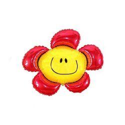 Balon foliowy 36 SHP Kwiatek, czerwony, 1szt.