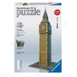PUZZLE 3D 216el. BIG BEN REKLAMA TV