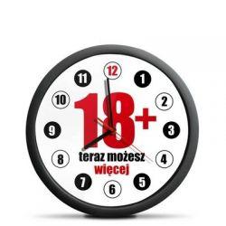 Zegar na 18