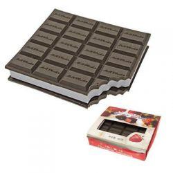 Czekoladowy notes-kształt czekolady