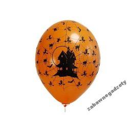 """Balony 14"""" Nawiedzony dom, Pastel Orange, 6sz"""