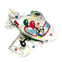 """Balon foliowy 36"""""""" SHP Samolot 3D, 1szt"""