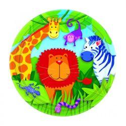 """""""Talerzyki Jungle Animals, 18cm, 1op."""""""