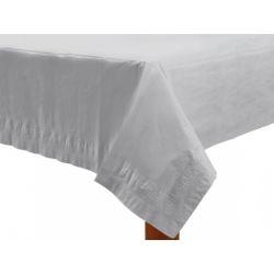 """Obrus papierowy, biały, 137 x 274cm, 1szt."""""""
