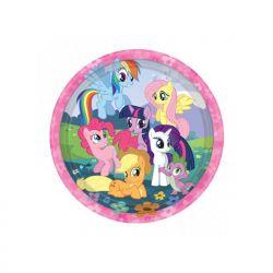 """Talerzyki My Little Pony, 22,8cm, 1op."""