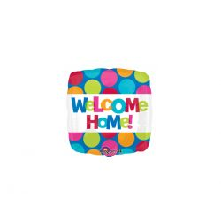 Balon foliowy 18'' SHP Welcome Home!, 1szt.""