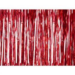 """Kurtyna Party, czerwony, 90 x 250cm, 1szt."""""""