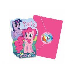 Obrus foliowy My Little Pony 120x180cm Roczek 8szt