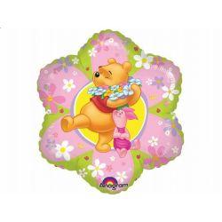 """Balon foliowy 18""""  Kubuś - kwiatek Urodziny"""