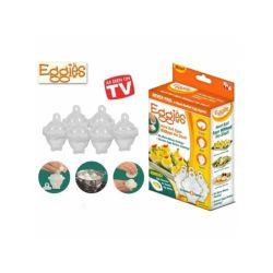 2 Eggies pojemniczki do gotowania jajek bez skorup