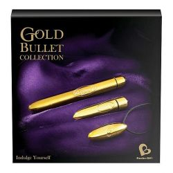 1 Rocks-Off - Zestaw złotych wibratorów - Gold Bul