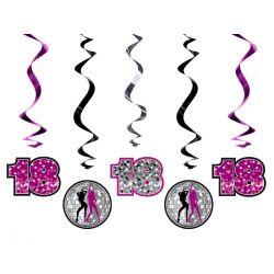 Świderki 18. urodziny, mix, 60cm, 1op.. URODZINY