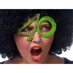 Okulary 40, zielony, 1szt.  URODZINY