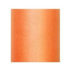 Tiul gładki, pomarańcz, 0,3 x 50m, 1szt.