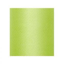 Tiul gładki, j. zielony, 0,3 x 50m, 1szt.