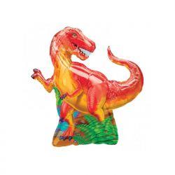 "Balon foliowy 39 x 31"" SHP Dinozaur, 1szt"