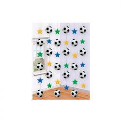Dekoracje wiszące Piłka nożna, mix, 210cm, 1op
