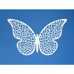"Dekoracje papierowe Motyl, 6,5 x 4cm, 1op."""