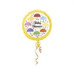 "Balon foliowy 17"""" CIR Baby Shower, 1szt"
