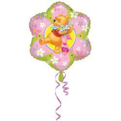 """Balon foliowy 18"""" SHP Kubuś - kwiatek, 1szt."""